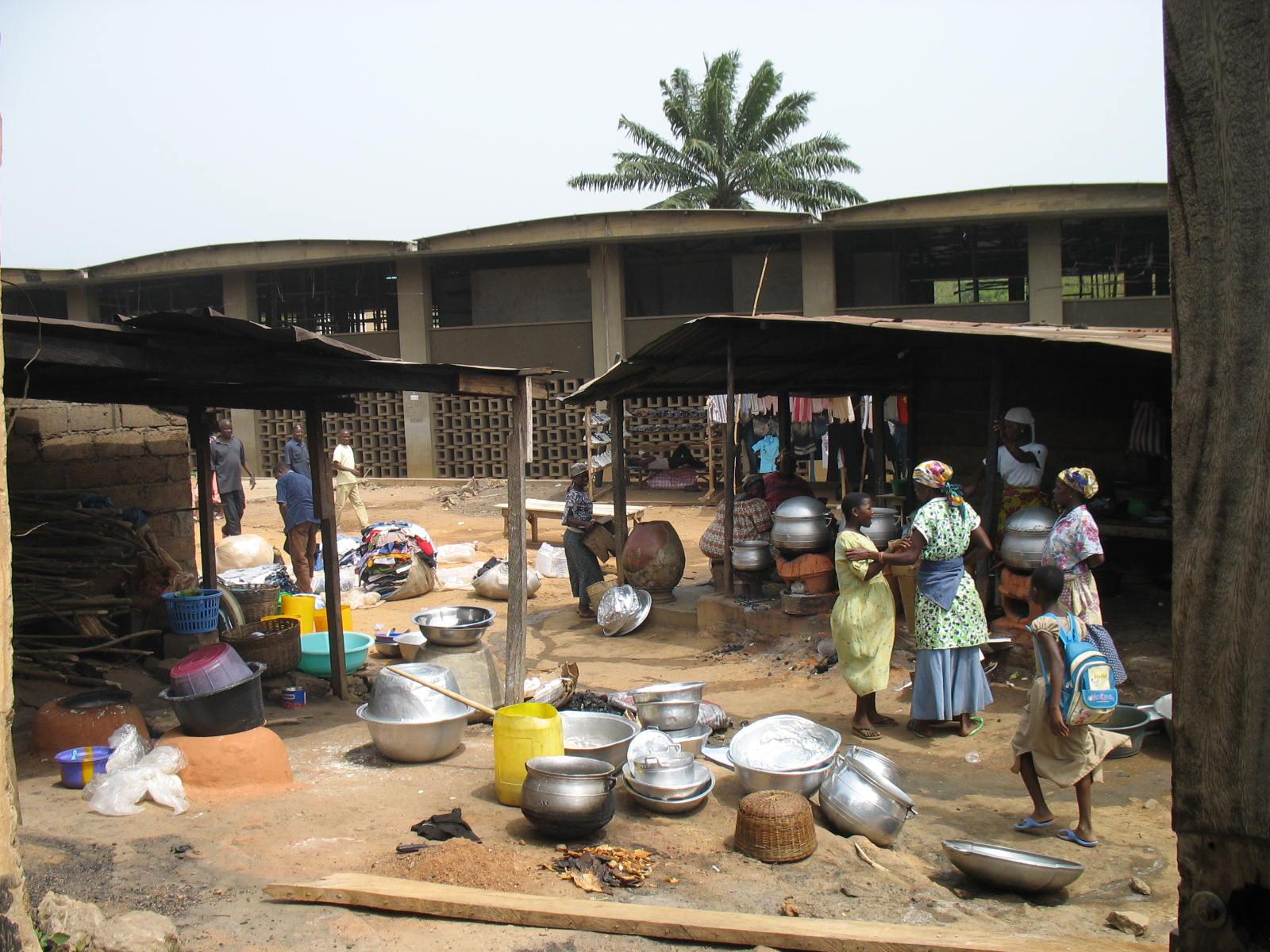 Le marché de Kpalime